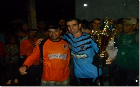 Premiação vice-campeão