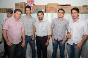 Zelandyo juntamente com Renato prefeito de Palmerina e Edmilson prefeito de Correntes