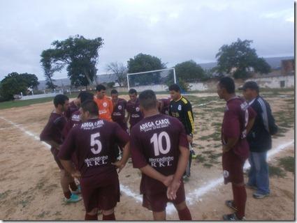 Seleção de Paranatama estreia na copa do agreste