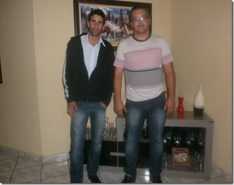 Júnior Pereira e Jailson Teixeira