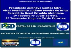 DIRETÓRIO DO PSD-PARANATAMA