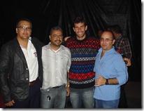 Jailson Teixeira, Clauco Alves, Wando Ponte e Júnior Pereira. São João de Paranatama 2013