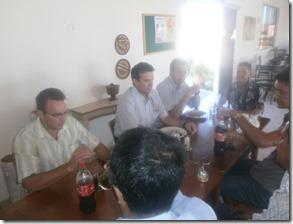 André de Paula, ex-deputado federal, Presidente do PSD ( Partidos Social Democrático) e candidato na próxima eleição, visita Paranatama e apresenta novo diretório. Agreste News Revista.