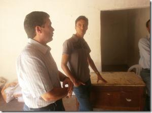 André de Paula Presidente do PSD- Pernambuco visita cooperativa em Paranatama