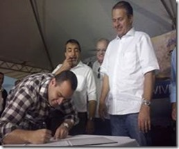 Governador Eduardo Campos em Paranatama. Agreste News Revista