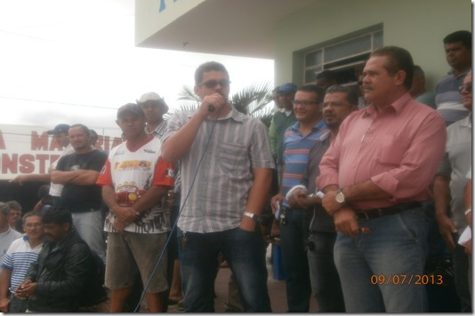 José Teixeira filho, Secretário de Sáude de Paranatama