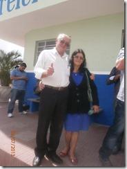 Prefeito José Teixeira e Esposa