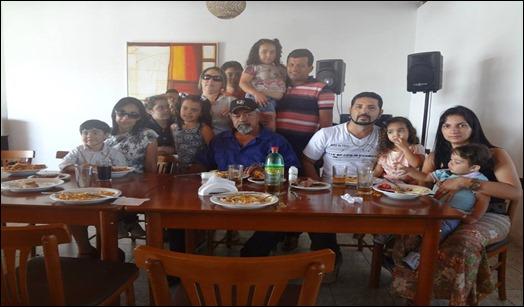 Comemoração do dia dos pais no restaurante neblina grill, povoado alto da serra, paranatama