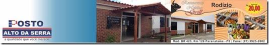 Restaurante Neblina Grill povoado alto da serra paranatama pernambuco