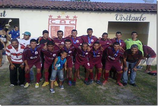 Seleção de Paranatama fica em terceiro lugar no Campeonato do Agreste