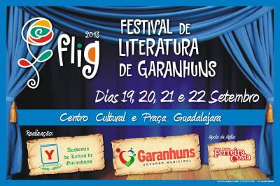 4º Festival de Literatura de Garanhuns. Agreste News Revista.