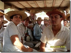 """Hoje completa cinco anos que parte da população do povoado Brejo velho participou das gravações do filme """"Lula o filho do Brasil"""". Agreste News Revista."""