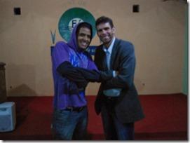 Palestrante Junior Pereira e Anderson Silva
