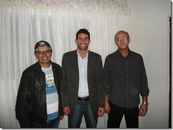 Blogueiro Elmes, Palestrante Junior Pereira e Everaldo Luiz