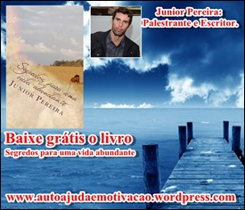 Palestrante de auto ajuda e motivação e escritor Junior Pereira