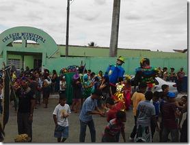 Paranatama - Pernambuco, EM clima de Carnaval.