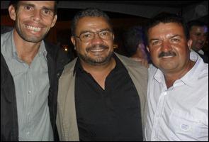 Júnior Pereira, Wando Pontes e Giovani