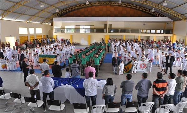 Aconteceu nesse domingo (30) na cidade de Caetés, a 1º Copa de Karatê de Caetés Circuito pernambucano.