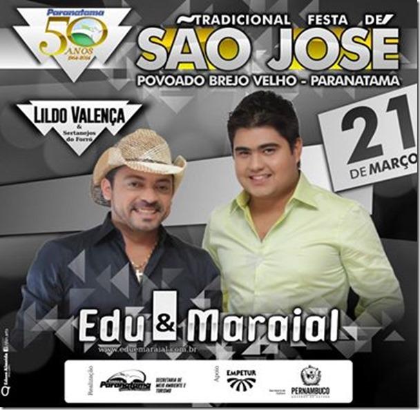 Sexta-feira 21 de março, Edu e Maraial no povoado Brejo velho, Paranatama.