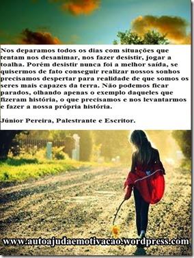 25 PASSOS PARA O SUCESSO, PAZ INTERIOR E FELICIDADE. Júnior Pereira