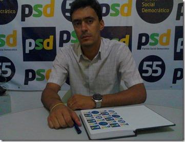 Presidente do PSD (Partidos Social Democrático) em Paranatama, Zelandyo Santos Silva