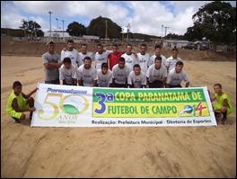 Rodada de domingo da 3º Copa Paranatama de Futebol