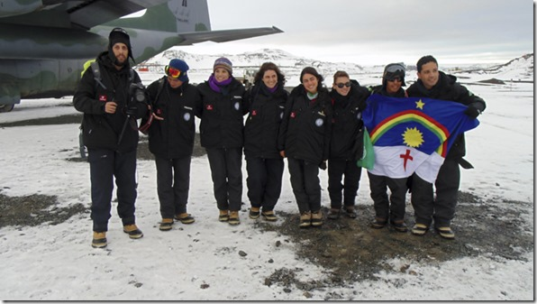 Professor e Estudante de Pernambuco são premiados na Antártica