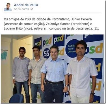 As novas caras da política de Paranatama Inovação, Desenvolvimento, Credibilidade e Serviços Prestados.
