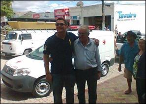 Prefeitura de Paranatama, apresentou dois novos veículos nessa terça-feira (5).