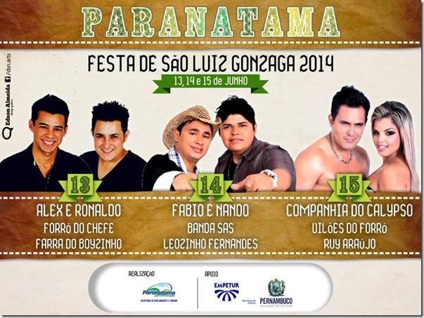 Paranatama: Festa de São Luiz Gonzaga 2014