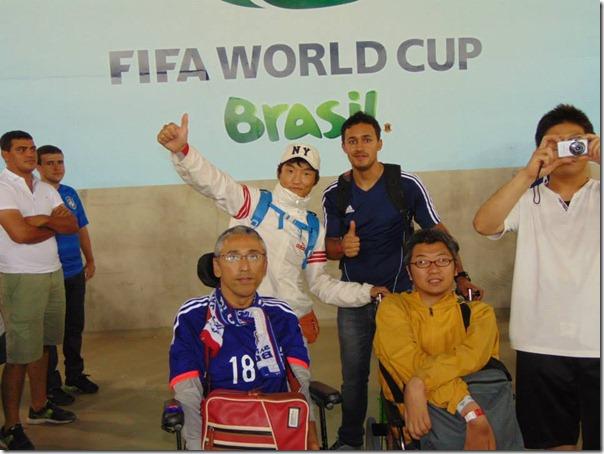 Equipe da Empresa Monte Horebe, esteve presente na Arena Pernambuco em Recife, no ultimo sábado (14) no jogo entre Japão e Costa do Marfim e pode presenciar de perto um fato que se tornou noticia mundial