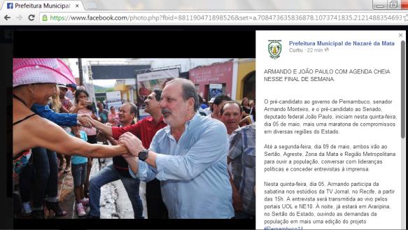 Prefeitura de Nazaré de Mata é condenada por propaganda eleitoral irregular