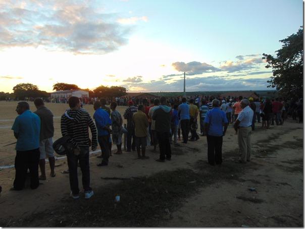 Uma multidão esteve presente no ultimo sábado (7) na final da terceira Copa Paranatama de futebol