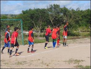 Júnior Pereira Promove Campeonato com Jovens e adolescentes de escolinha de futebol nenhum sitio Brito 3, EM Paranatama.