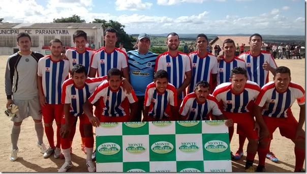 Aconteceu na tarde de sábado (7) a grande final da 3º Copa Paranatama de Futebol.